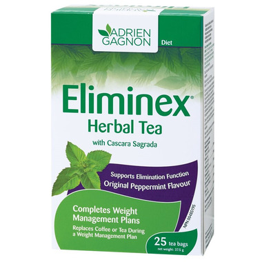 Adrien Gagnon Eliminex Herbal Tea Original Peppermint Flavour