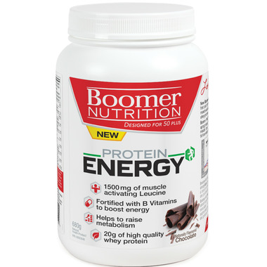 Boomer Nutrition Protein Energy Chocolate
