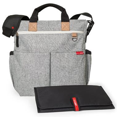 Skip Hop Duo Signature Diaper Bag Grey Melange