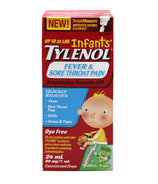 Infants' Tylenol Fever & Sore Throat Pain Suspension Drops