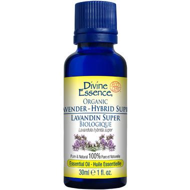 Divine Essence Super Lavender Hybrid Organic Essential Oil