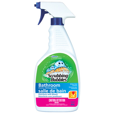 Buy Scrubbing Bubbles Bathroom Cleaner With Bleach At Free Shipping 35 In Canada