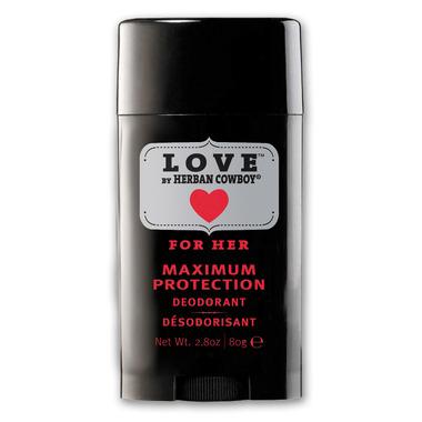 Herban Cowboy for Her Love Maxiumum Protection Deodorant