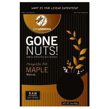 Living Intentions Gone Nuts! Mesquite Pod Maple Blend