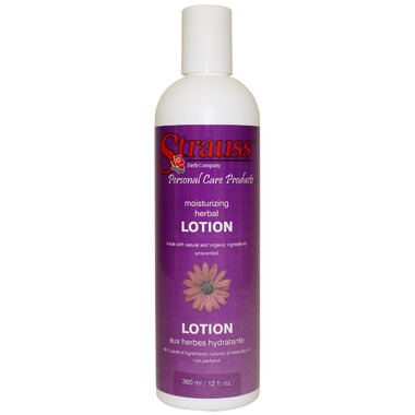 Strauss Herb Company Moisturizing Herbal Lotion