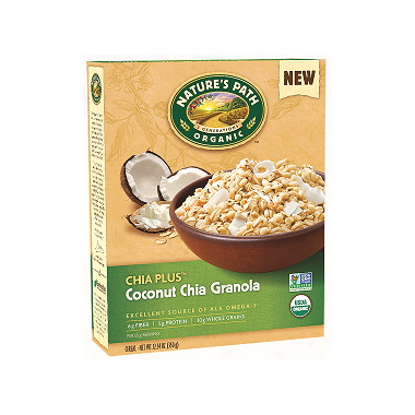 Nature\'s Path Organic Chia Plus Coconut Chia Granola