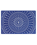 Ore Pet Speckle & Spot Bandana Blue Pet Placemat