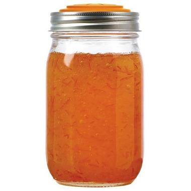 Jarware Orange Jelly/Jam Lids