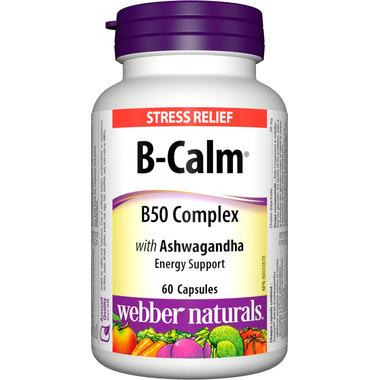 Webber Naturals B-Calm Stress Relief Tablets