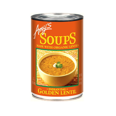 Amy\'s Organic Indian Golden Lentil Soup