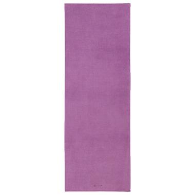 Gaiam Grippy Yoga Mat Towel Purple
