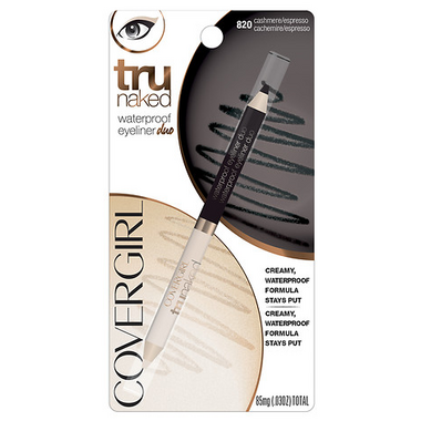CoverGirl Trunaked Waterproof Eyeliner Duo in Cashmere/Espresso