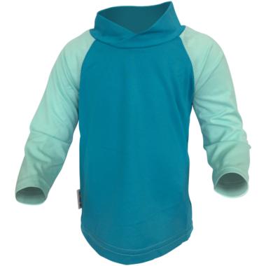 Bummis Long Sleeve UV Shirt Aqua & Seaspray