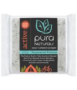 Pura Naturals Active Soap Infused Sponge Peppermint Volcano