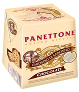 Chiostro di Saronno Panettone Classico Chocolate Chip Cardboard Box