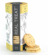Real Treat Organic Lemon Sables with Herbes de Provence Cookies