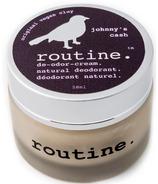 Routine De-Odor-Cream Natural Deodorant in Johnny's Cash Scent
