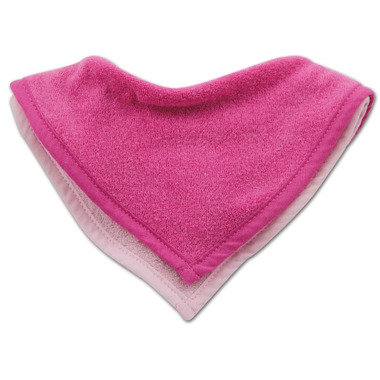 Bumkins Waterproof Terry Bandana Bib Pink