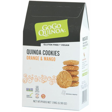 GoGo Quinoa Orange & Mango Cookies