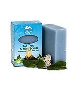 Mountain Sky Tea Tree & Mint Scrub Bar Soap