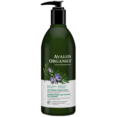 Avalon Organics Rosemary Glycerin Liquid Hand Soap
