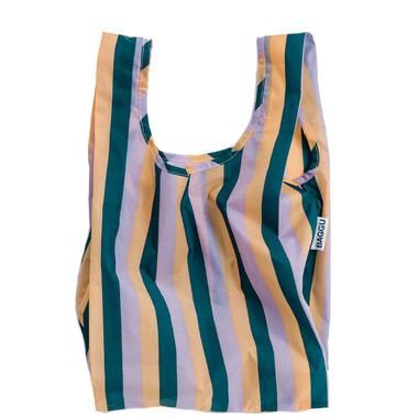 Baggu Baby Baggu Reusable Bag in Peach Nineties Stripe