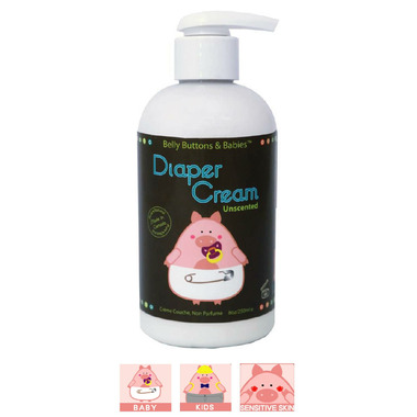 Belly Buttons & Babies Unscented Diaper Cream