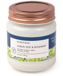 Paddywax Happy Lemon Zest & Rosemary Soy Wax Candle Jar