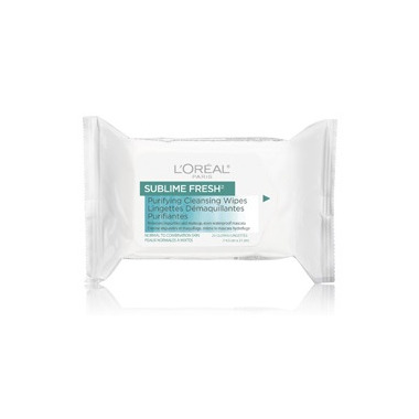 L\'Oreal Sublime Fresh Purifying Cleansing Wipes