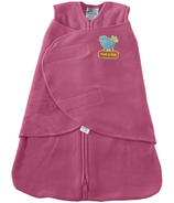 HALO SleepSack Swaddle Micro-Fleece Bright Pink Bird Applique