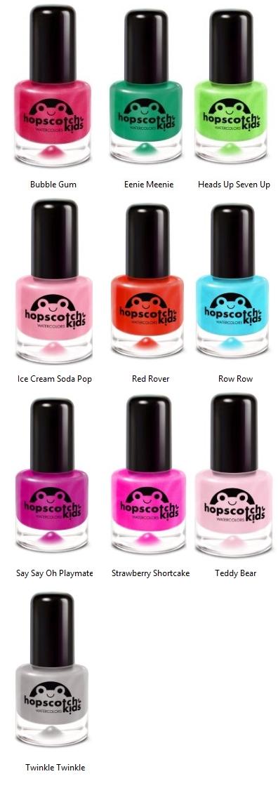 Buy hopscotch kids Watercolors Nail Polish at Well.ca | Free ...