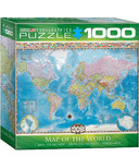 Eurographics Map of the World Puzzle
