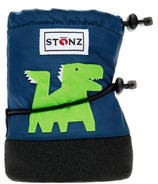 Stonz Navy Blue Dragon Infant Booties