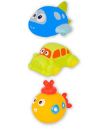 Kushies Bath Squirters Going Places Set