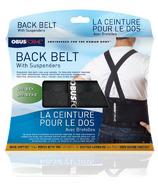 Obus Forme Back Belt with Suspenders Unisex