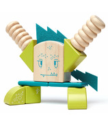 Tegu Magnetic Wooden Blocks Set Zip Zap