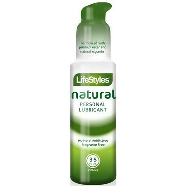 LifeStyles Natural Personal Lubricant