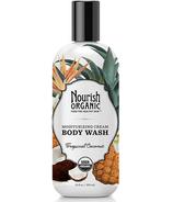 Nourish Organics Organic Body Wash Tropical Coconut