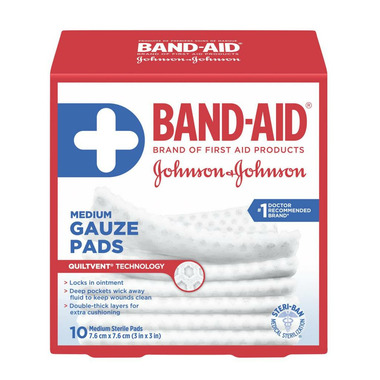 Band-Aid Brand Medium Gauze Pads