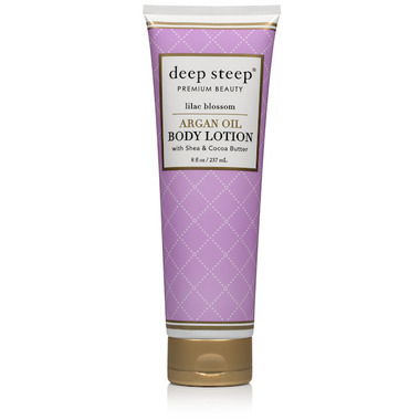 Deep Steep Argan Oil Body Lotion Lilac Blossom
