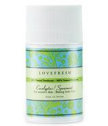 Lovefresh Eucalyptus Spearmint Natural Cream Deodorant Stick