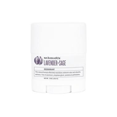 Schmidt\'s Deodorant Lavender & Sage Deodorant Travel Size
