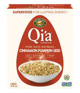 Nature's Path Qi'a Pure Oats Oatmeal Cinnamon Pumpkin Seed