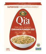Nature's Path Qi'a Pure Oats Oatmeal Cinnamon Pumpkin Seed