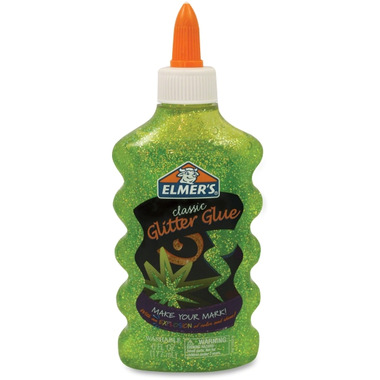 Elmer\'s Classic Washable Glitter Glue in Green