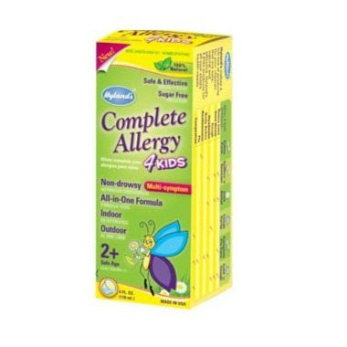 Hyland\'s Complete Allergy Relief 4 Kids