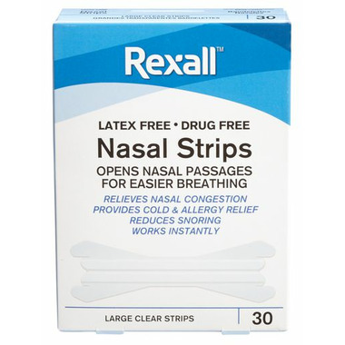 Rexall Large Clear Nasal Strips