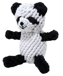 Jax & Bones Panda Rope Dog Toy Size Large