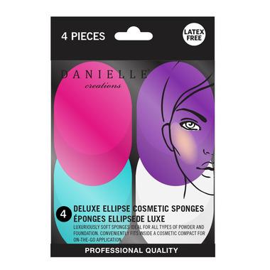 Danielle Ellipse Blending Sponges 4 Pack