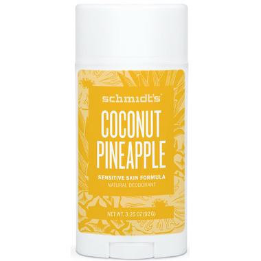 Schmidt\'s Deodorant Coconut Pineapple Sensitive Skin Deodorant